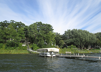 Dock on White Bear Lake1