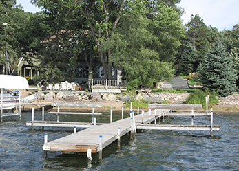 Dock on White Bear Lake 2