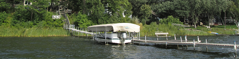 Dock on White Bear Lake